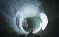 Bond St Tunnelling Crossrail