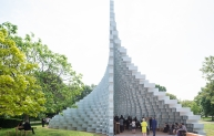 Serpentine Pavilion 2016 designed by Bjarke Ingels Group (BIG); Photo © Iwan Baan
