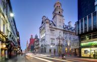 The multi-award-winning Aloft Hotel in Liverpool.