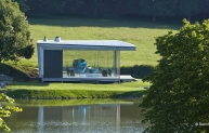 SSDA winner: Island Pavilion and footbridge, Wormsley