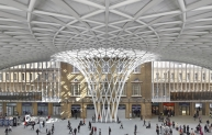 King's Cross Station Panorama. Copyright Hufton + Crow