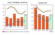 Profit margin all UK firms