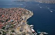 Marmaray - Uskudar station aerial view