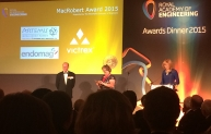 McRobert Award 2015 - Prince Philip and Dame Ann Dowling