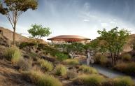 Oman Botanic Garden habitats pavilion