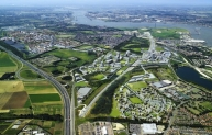 Ebbsfleet Client name: Land Securities Group PLC Associated professionals: David Lock Associates, Bridget Rosewell, Eric Kuhne, Terry Farrell, SOM, Arup   Our work at Ebbsfleet Valley stretches back to the very earliest days of its planning.