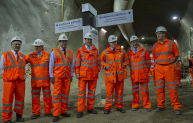 The £14.5bn Crossrail project reaches half way