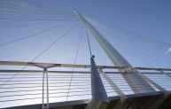 The bridge is designed to be a landmark structure