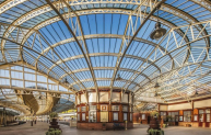 "Wemyss Bay station - ""a work of art"" says Simon Jenkins."
