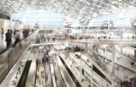 Thames Hub interior - Foster and Partners