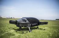 Vertical Aerospace's eVTOL aircraft on the ground.