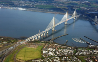 Queensferry Crossing. Photo: Forth Crossing Bridge Constructors.