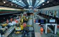 Closure during Christmas period 2013 allowed LU to complete works at busy Earl's Court station in accelerated time.
