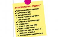 Attracting Staff checklist
