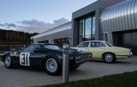 The British Motor Museum Collections Centre in Warwickshire.