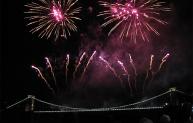 Clifton 150 fireworks