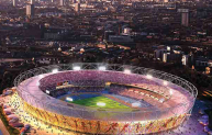 The 2012 London Olympic Stadium.